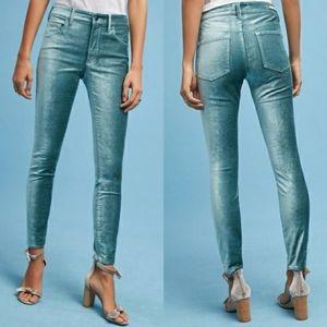 | Anthropologie | Pilcro High Rise Velvet Jeans
